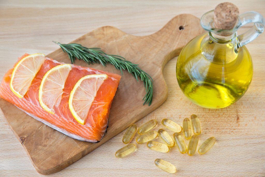 fatty fish healthy food glowing skin hair