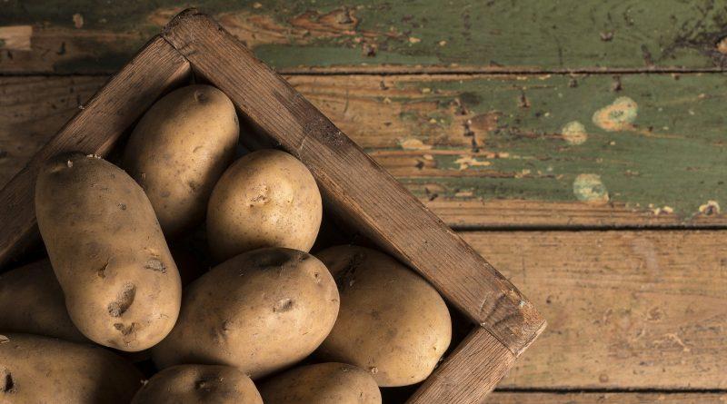 potato dark spots pigmentation