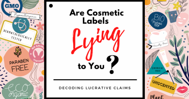 Are Cosmetic Labels lying to you? Decoding Lucrative Marketing Claims!