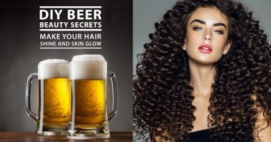 DIY Beer Beauty Benefits: Make Skin and Hair Glow