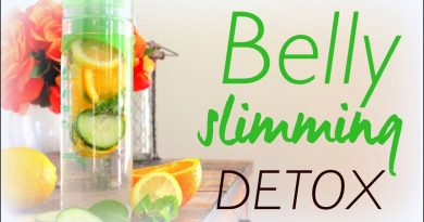 5 Best Belly Slimming Natural Detox Water Recipes
