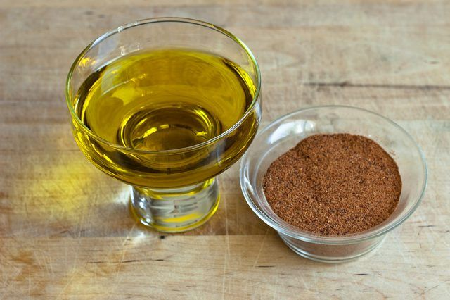 Cayenne Pepper and Olive Oil