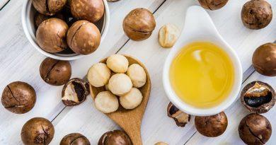 Macadamia oil for skin