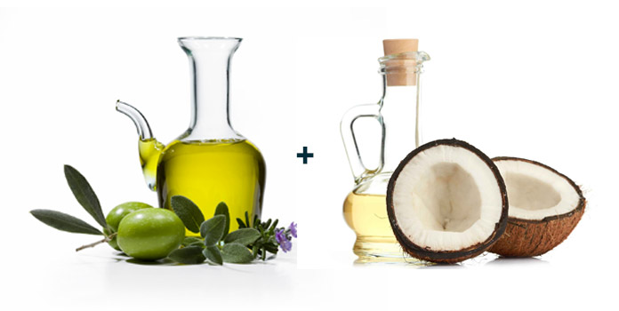 Olive-Oil-and-Coconut-Oil-Hair-Mask