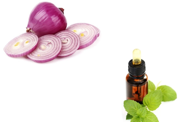 Onion-And-Peppermint-Oil-For-Eyebrow