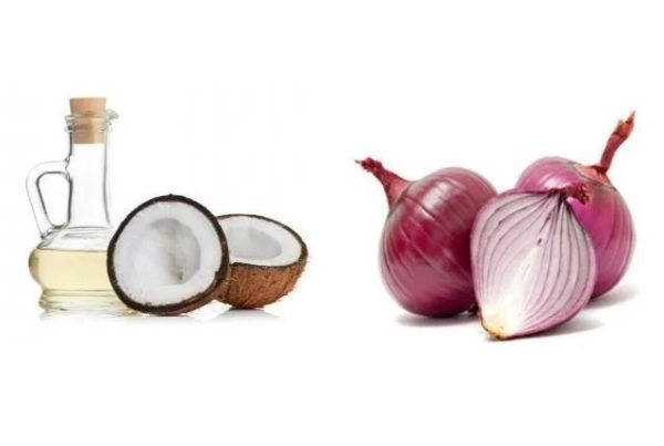 Onion-juice-and-coconut-oil-mask