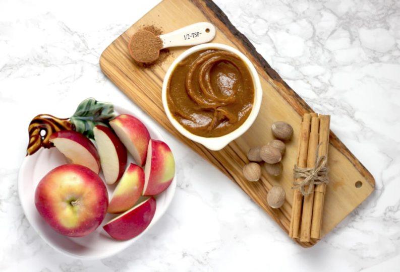 apple cinnamon face mask