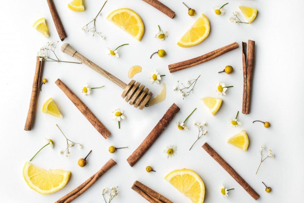 cinnamon lemon juice
