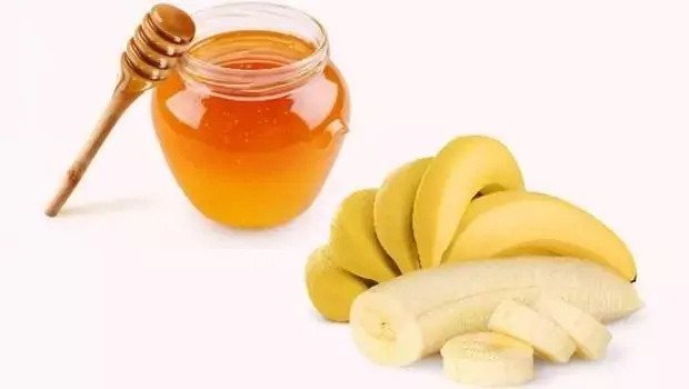 honey and banana hair mask