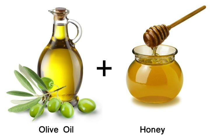 olive oil and honey for hair