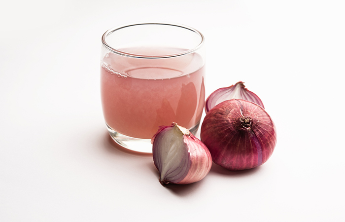 onion ginger water for hair
