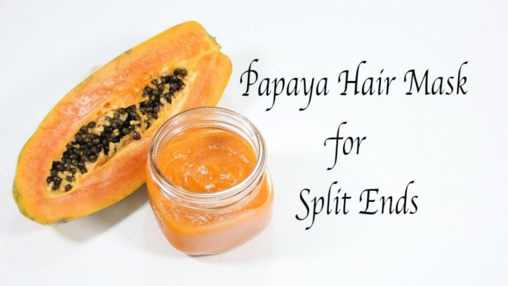 papaya for split ends