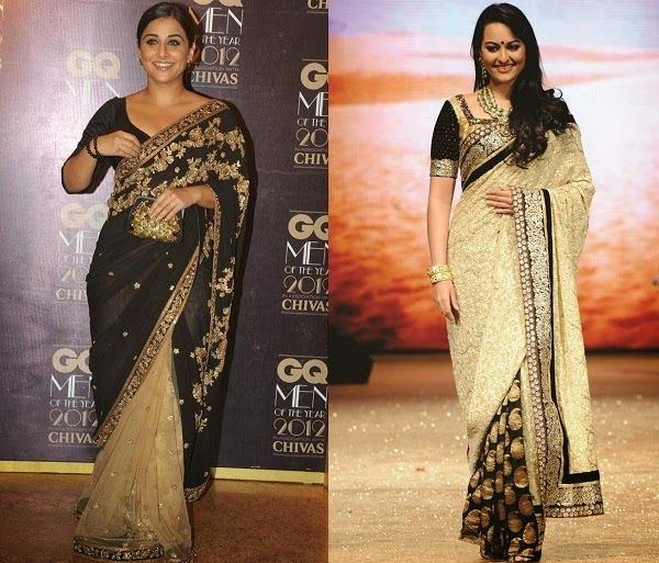 sarees for pear shaped body