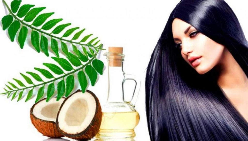 Curry Leaves and Coconut Oil