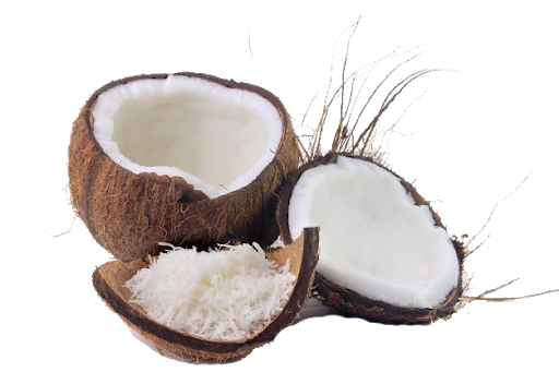 Dry coconut cures constipation