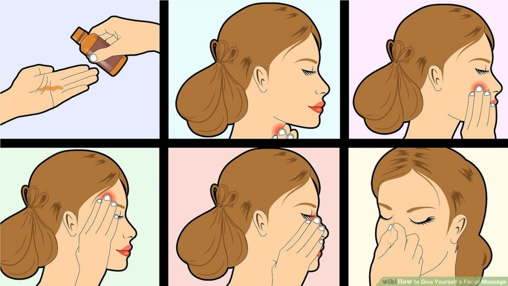 Give-Yourself-a-Facial-Massage-Step