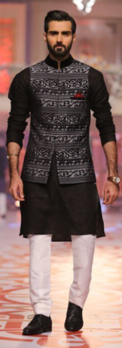 Indo western kurta and Nehru jacket