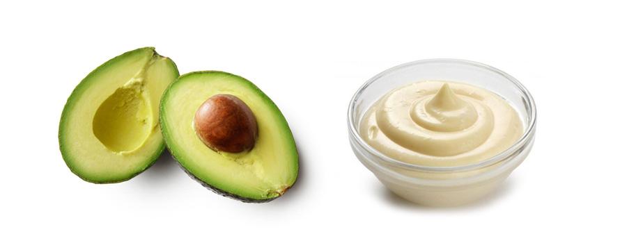 Mayonnaise & Avocado Hair Mask