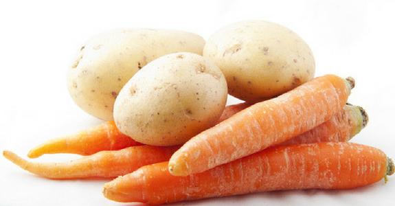 carrot potato face mask