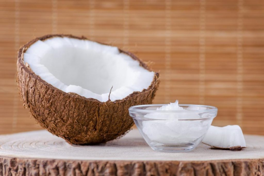 dry coconut for cancer