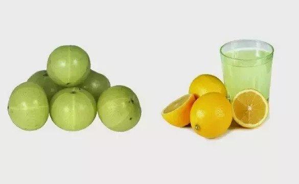 lemon and amla powder for hair