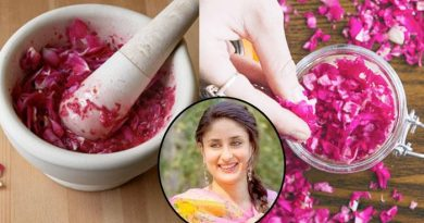 rose petals for hair growth