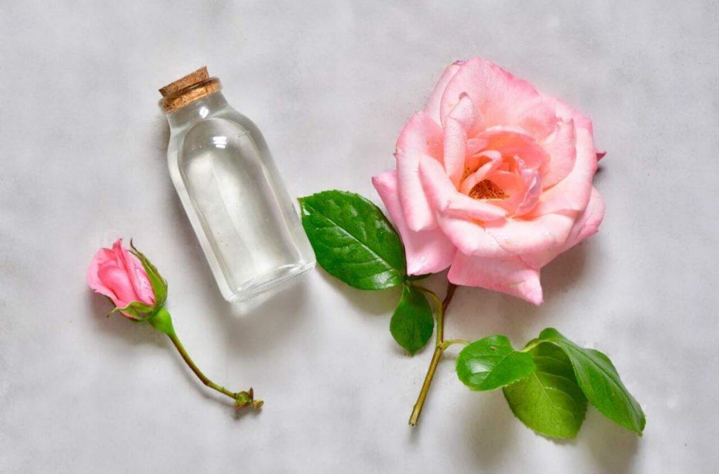 rosewater and neem facepack