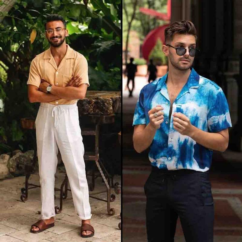 latest-indian-street-fashion-trends-for-men-cuban-collar-shirts