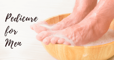 pedicure for men at home