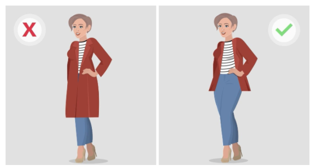 how to look slim in photos