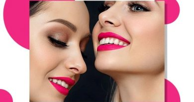 fuschia pink lipstick
