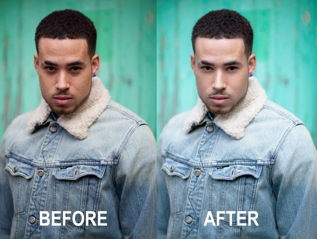 how to be photogenic men