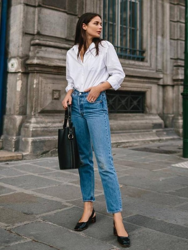 Formal Wear with Jeans - jeans with shirt