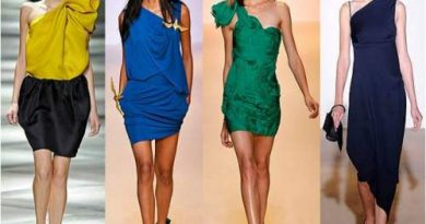 what is a an asymmetrical dress