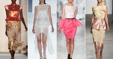 what is a peplum dress