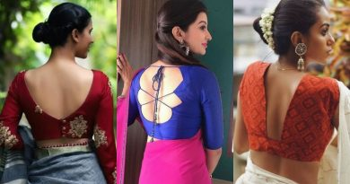 Different Types Of Blouse Designs For Women