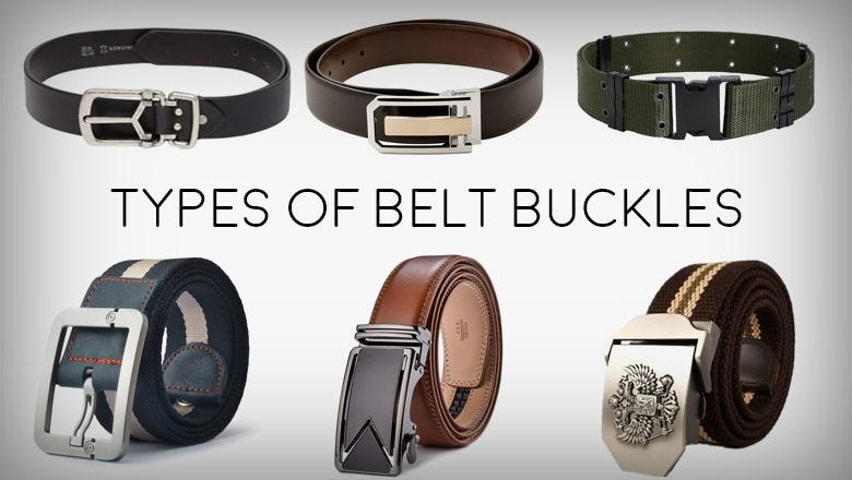 types of belt buckles
