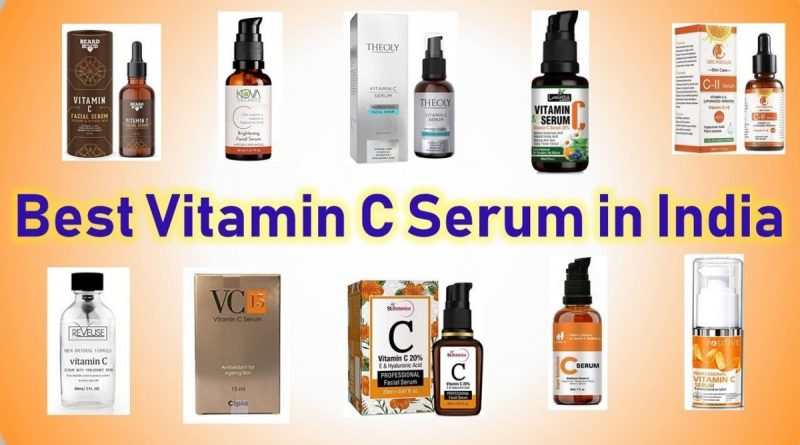 vitamin c serum brands in india