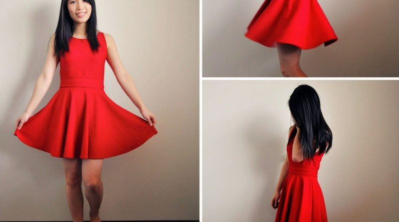what is a skater dress
