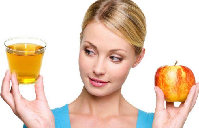 apple cider vinegar for dark circles