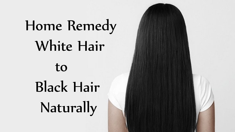 how to get black hair naturally