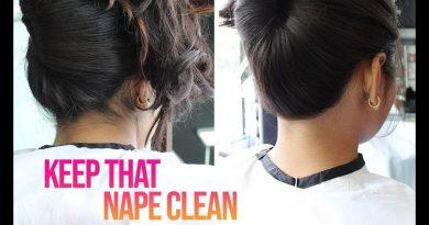 how to grow nape hair