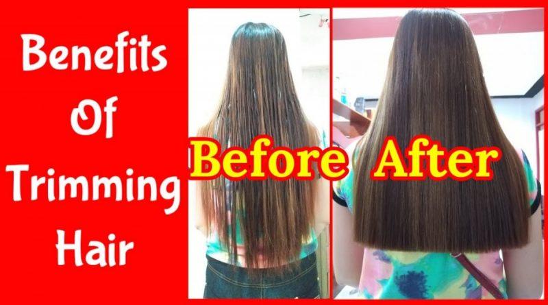 trimming hair benefits