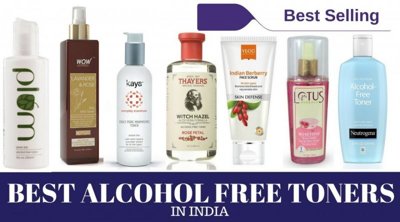 alcohol free toner