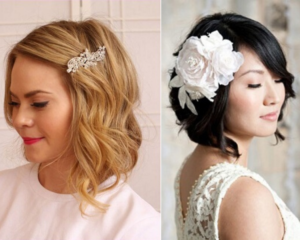 hairstyle for wedding party